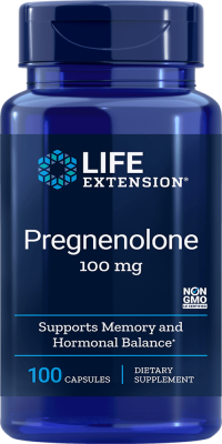 pregnenolone memory hormone balance supplement