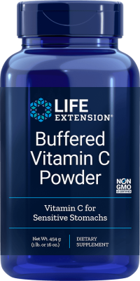 buffered vitamin c powder sensitive stomach supplement