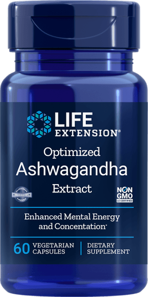 ashwagandha extract mental energy concentration supplement