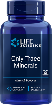 trace minerals booster vegetarian supplements