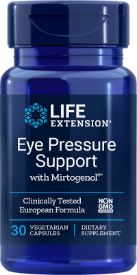 eye pressure support mirtogenol vegetarian supplement
