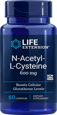 n-acetyl-l-cystein cellular glutathione supplement