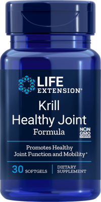 krill healthy joint function mobility softgels