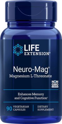 neuro-mag magnesium l-threonate memory cognitive function supplement