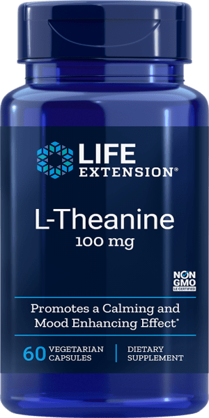 l-theanine calming mood enhancing supplement