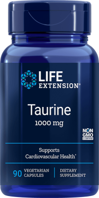 taurine cardiovascular health supplement