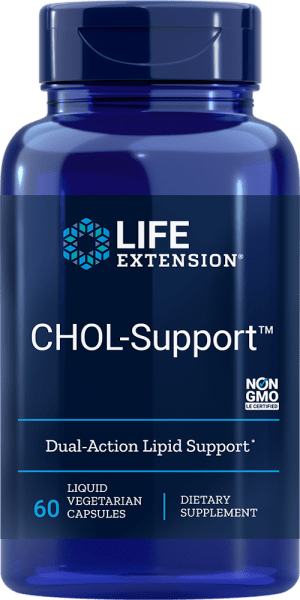 chol support lipid support vegetarian supplement