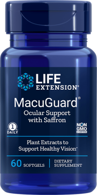 macuguard ocular support with saffron healthy vision