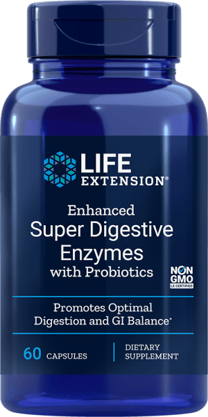 digestive enzymes probiotics gi balance supplements
