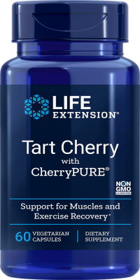 tart cherry muscle exercise vegetarian capsules