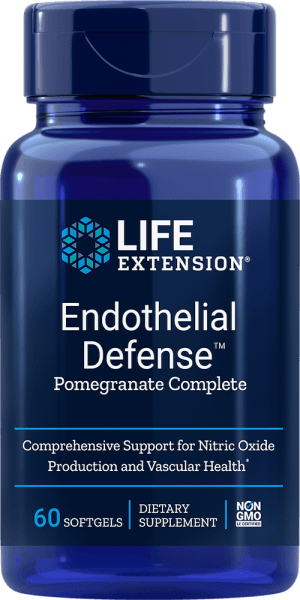 endothelial pomegranate nitric oxide vascular softgels