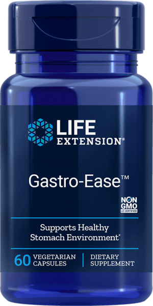 gastro-ease stomach health vegetarian supplements