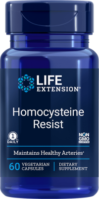 homocysteine resist arteries vegetarian capsules
