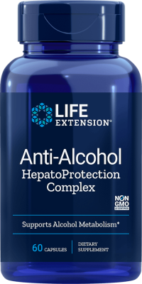 anti-alcohol hepatoprotection supplements