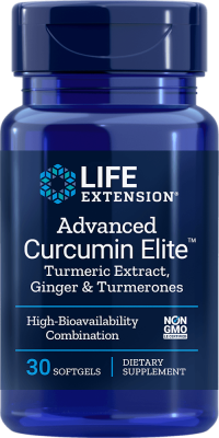 advanced curcumin elite turmeric ginger turmerones