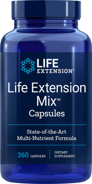 life extension mix capsule supplements