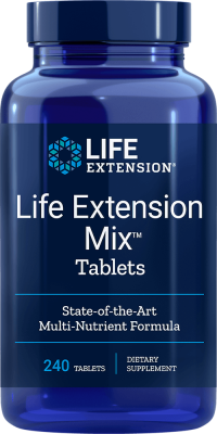 life extension mix supplements