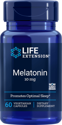 melatonin sleep vegetarian capsule supplement
