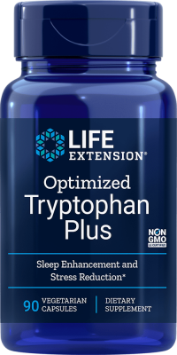 tryptophan plus sleep stress reduction supplement