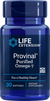 provinal omega-7 healthy heart softgel supplements