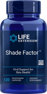 shade factor skin health vegetarian supplements