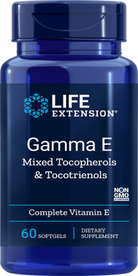 gamma e tocopherols tocotrienols vitamin e softgels