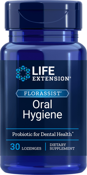 florassist oral hygiene probiotic dental supplement
