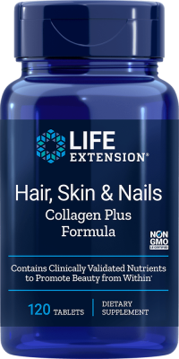 hair skin nails collagen plus supplement formula