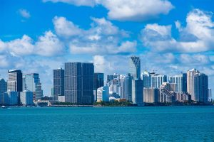 miami skyline by joe hammond